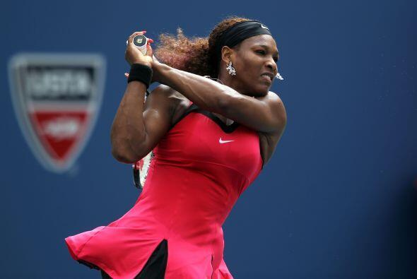 Serena se siente muy cómoda en las canchas de Flushing Meadows, y así lo...