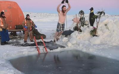 Así celebran expedicionarios antárticos el solsticio de invierno. ¿Te at...