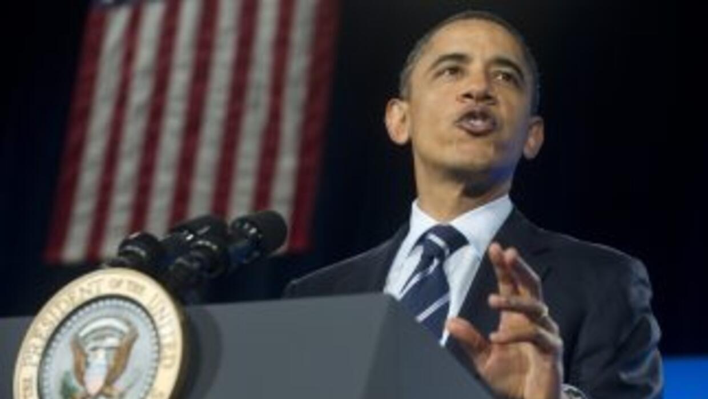 El presidente Barack Obama destacó la importancia de mejorar el sistema...