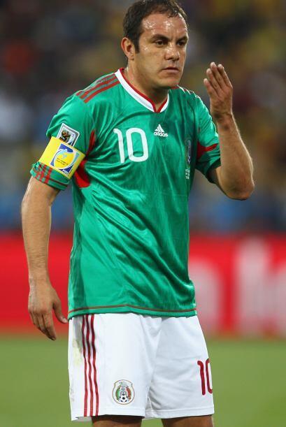 Cuauhtémoc ya se despidió de la selección pero del fútbol todavía no y D...