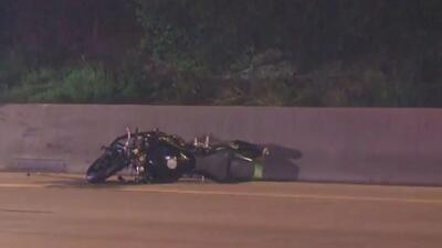 Dos conductores de motocicleta resultaron heridos en un accidente en Houston