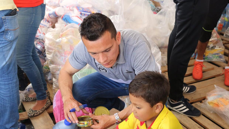 Juan Pablo 'Chato' Rodríguez se sumó a las labores del centro de...