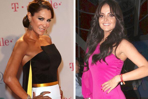 Dos reinas de la farándula mexicana también esperan bebé.  Aquí los vide...