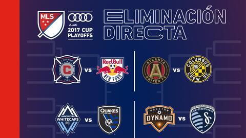 Partidos de Eliminación Directa - MLS Cup Playoffs 2017