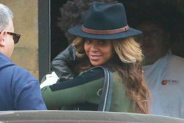 Beyoncé no quiso presumir a su hermosa nena.