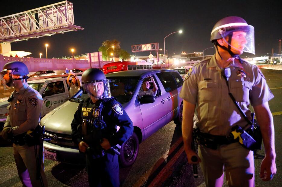 Protestas en Los Ángeles contra Donald Trump