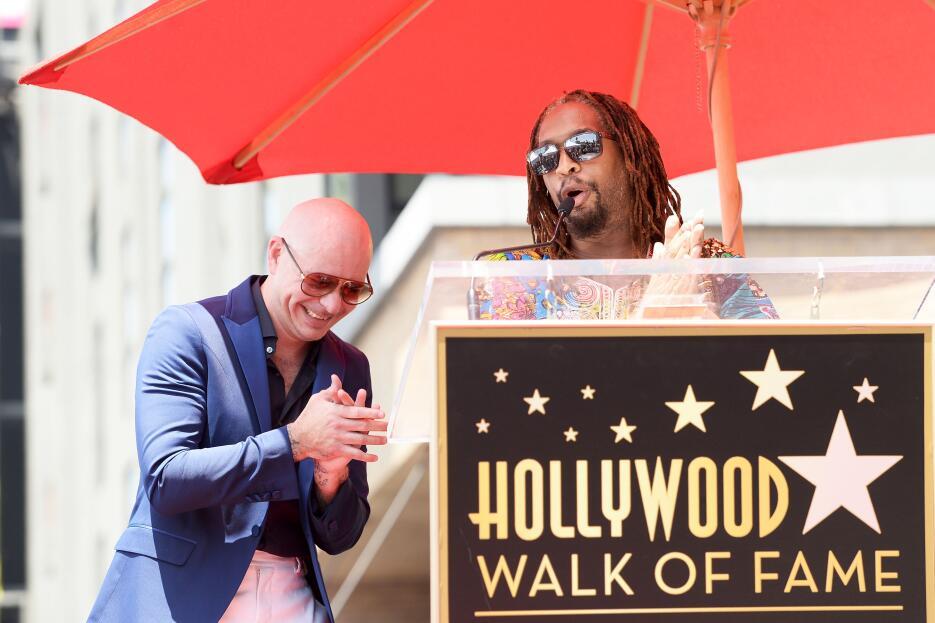 Lil Jon reconoció la trayectoria de 'Pitbull'.