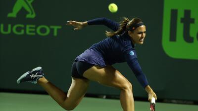 Monica Puig, el bello toque de talento latinoamericano en el Miami Open