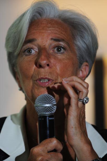 Christine Lagarde se encuentra peliando por el puesto en el FMI luego de...