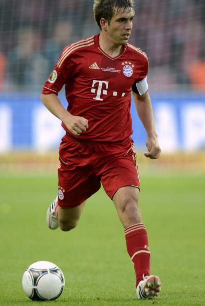 El capitán Philipp Lahm se ha vuelto alma de este equipo, reflejando su...