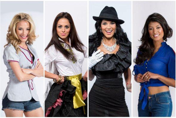 Odaray Prats, Fernanda Loconsolo, Audris Rijo y Karina Hermosillo trabaj...