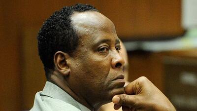 El doctor durante su juicio por la muerte de Michael Jackson.