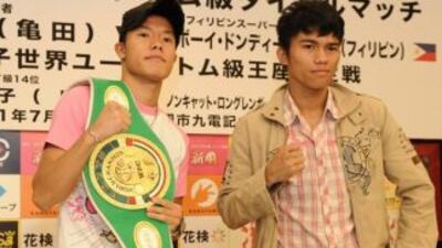 Tomoki Kameda defenderá su título juvenil gallo contra Pumar Dondee Sing...