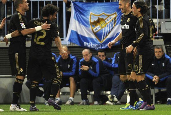 Este gol calmaba la presión que se iba formando entre los 'merengues'.