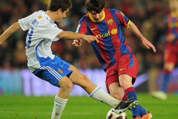Messi seguía buscando su gol.