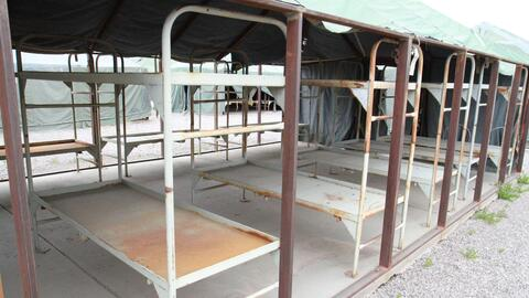 Bajan las carpas de la cárcel que abrió el exsheriff Joe Arpaio