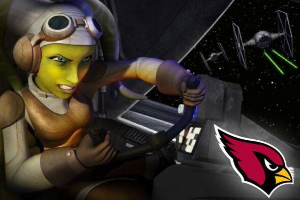 Pick 25. Arizona Cardinals -- Hera Syndulla.