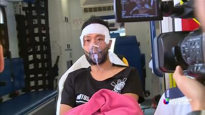 Indignación por golpiza de la policía a un manifestante en Hong Kong