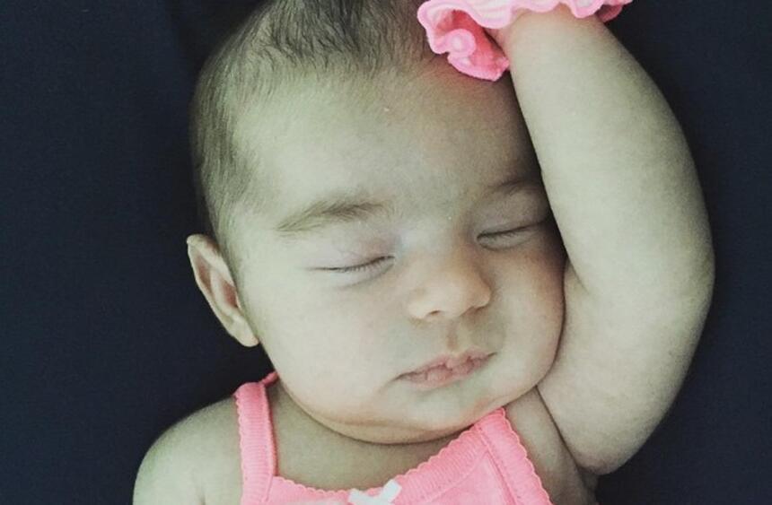 Michelle, bebé de Alan Tacher