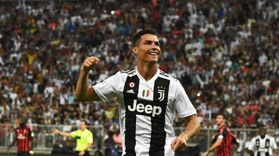 En fotos: Juventus se corona campeón de la Supercopa, primer título de Cristiano en Italia