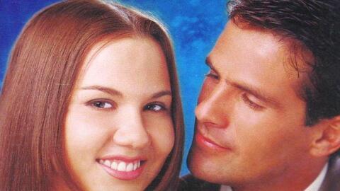 Michellle Vieth y Héctor Soberón, un romance que comenz&oa...