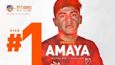 La primera selección general del SúperDraft 2019 de la MLS es un México-Americano: Frankie Amaya