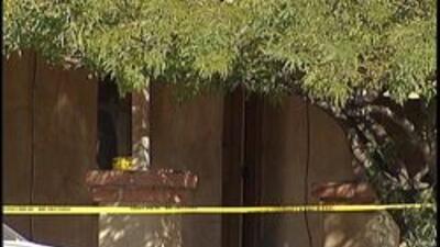 Casa en Tucson donde el cuerpo fue encontrado