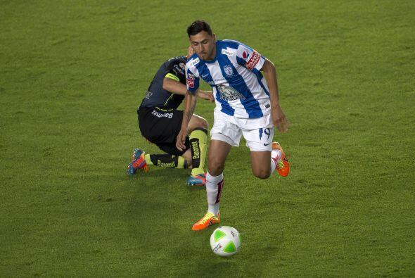Abraham Darío Carreño (7): El delantero de los Tuzos estuvo carente de p...