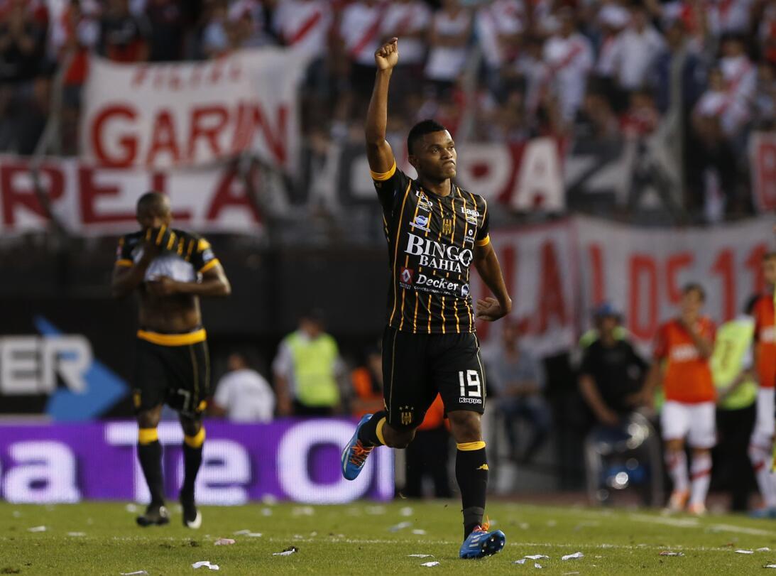 Miguel Borja, el delantero que suena para la Liga MX GettyImages-4590902...