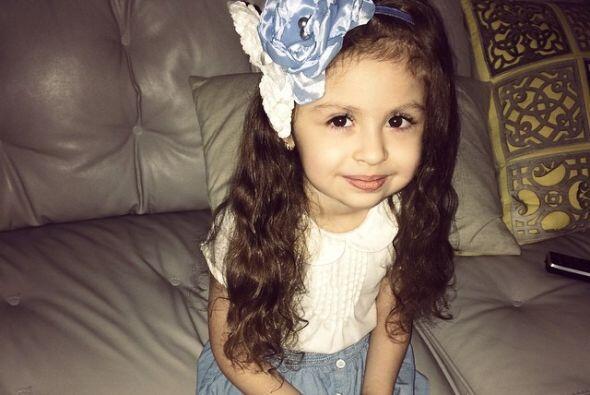 Esta belleza de niña es uno de los motores del cantante.