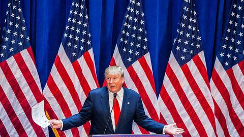 Donald Trump anuncia su candidatura republicana a la presidencia de EEUU