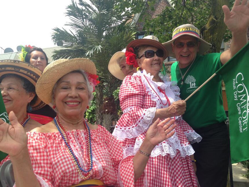 Las danzas tradicionales de Colombia llenaron a NYC de color.