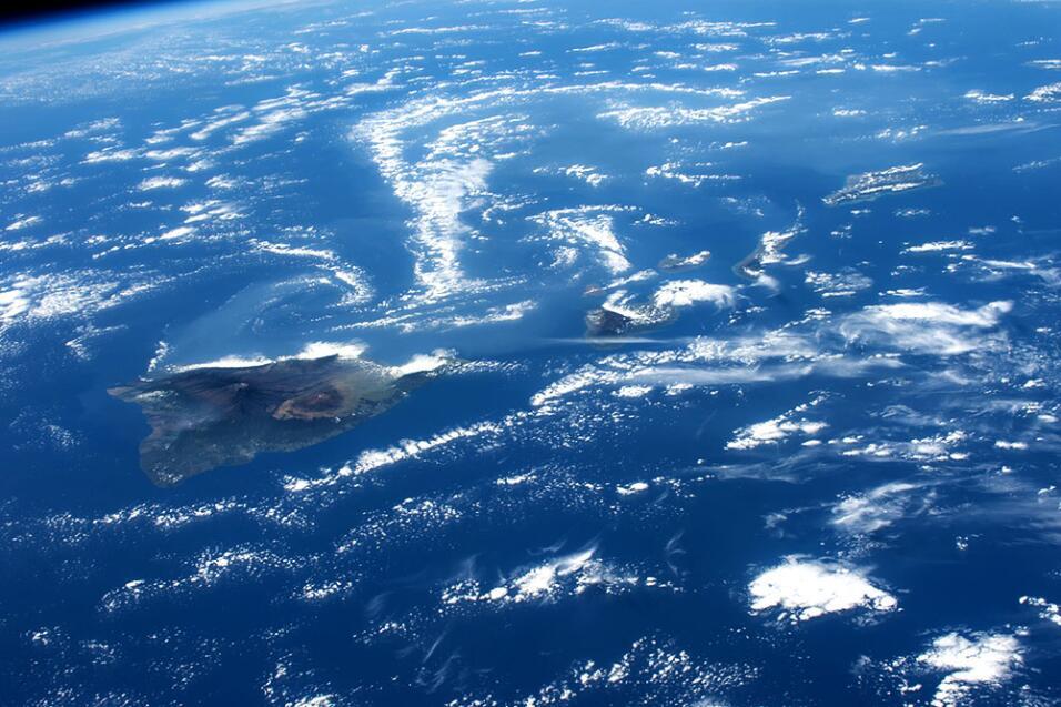 Astronauta de Puerto Rico habla con niños de la isla desde el espacio is...