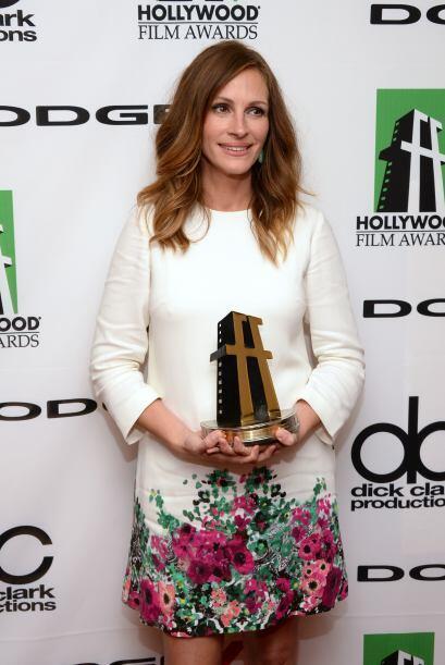 """Julia Roberts triunfó por actriz de reparto en """"August: Osage County"""".Mi..."""