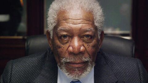 Morgan Freeman tuvo un accidente en su mano