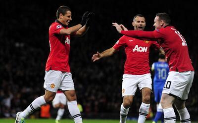 Giggs y Hernández fueron compañeros en el Manchester United