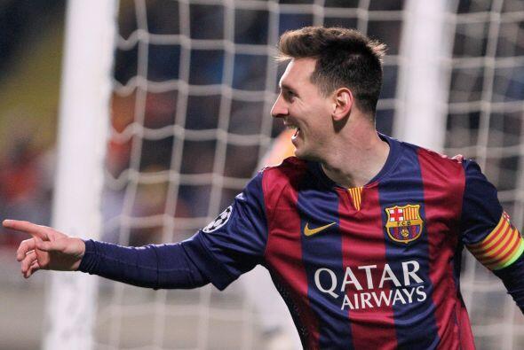 El 25 de noviembre 'Lio' volvió a marcar un triplete con el Barcelona en...