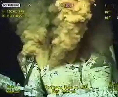 Muerte a todo color. BP instaló una cámara a 1,600 metros...