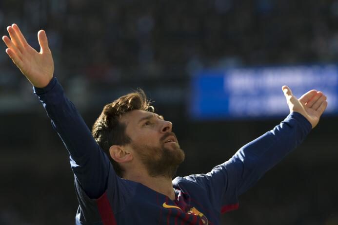 1. Lionel Messi (Barcelona / Argentina)