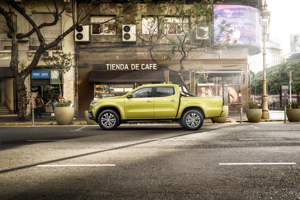 La pickup Mercedes-Benz Clase-X  no llegará a Estados Unidos porque no t...