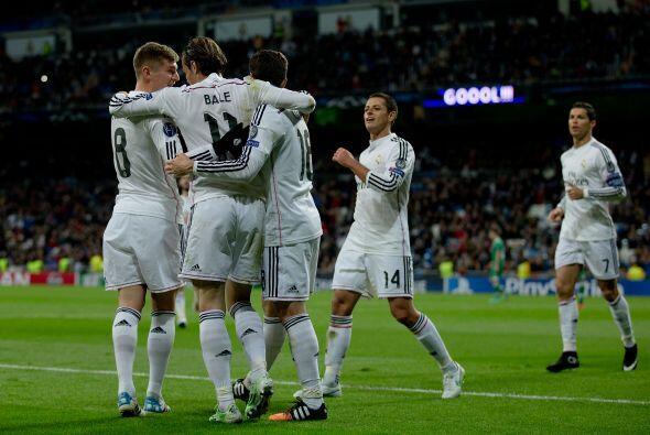 El Madrid consiguió ante el Ludogorets su decimonovena victoria consecut...