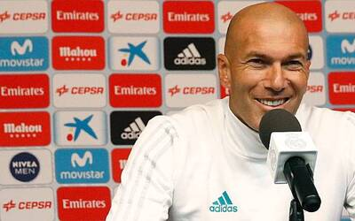 Zinedine Zidane rueda de prensa en LA