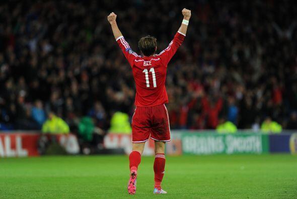 Actualmente Bale lleva 4 goles en liga, uno en la Liga de Campeones y do...