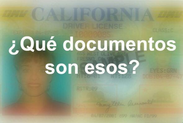 Los clientes que soliciten una licencia de manejar deben proporcionar co...