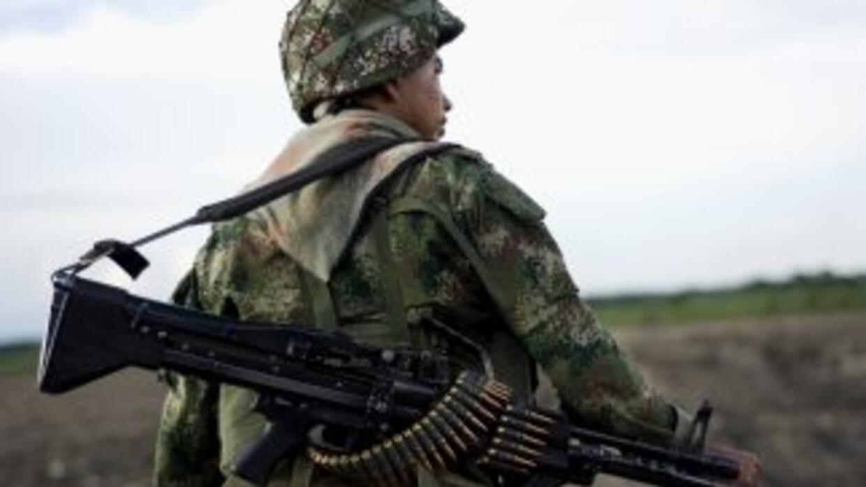 Colombia lucha en contra de la guerrilla de las FARC.
