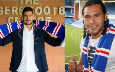 Rangers anunció fichajes de 'Gullit' Peña y Eduardo Herrera
