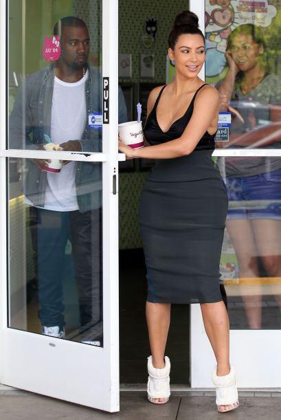 Nosotras en los zapatos de Kim Kardashian -que por cierto están espantos...