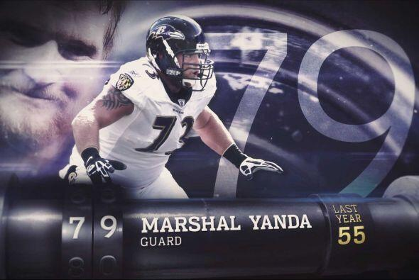 #79 Marshal Yanda.