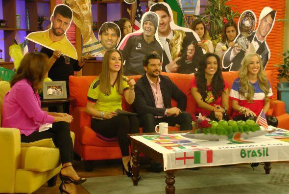 Marcelo se divirtió a lo grande en esta segmento.