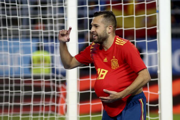 Gol Jordi Alba